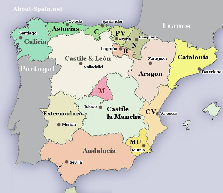 Spanish autonomous communities