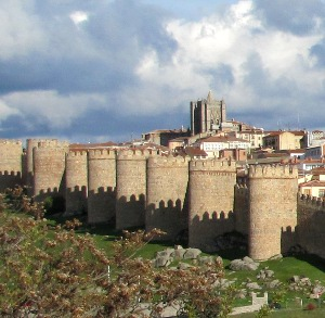 The ramparts of Avila