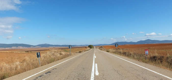 Spanish national road
