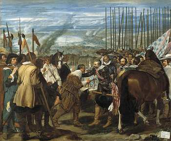 Velazquez - Surrender of Breda - Prado