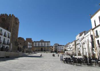 Caceres - Plaza mayor