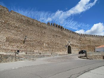 Galisteo ramparts