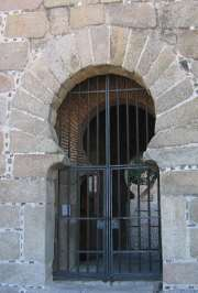 Trujillo castle moorish gateway